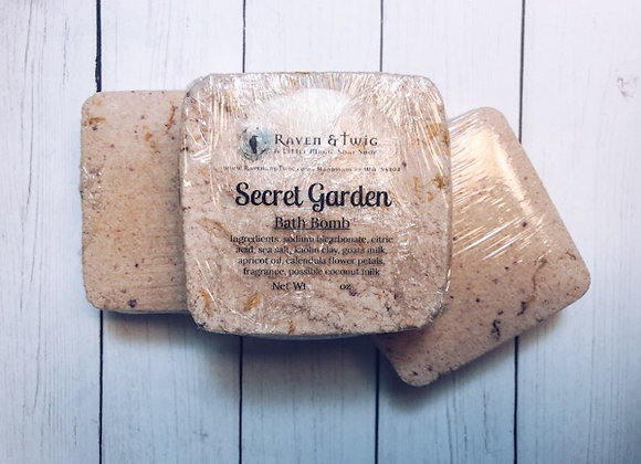 Secret Garden Bath Bombs