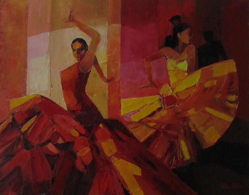 Flamenco   81x65   2400€