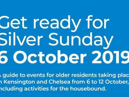 Silver Sunday - 6 October!