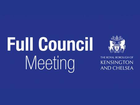 Full Council Meeting · 5 December