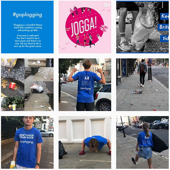 GoPlogging Instagram