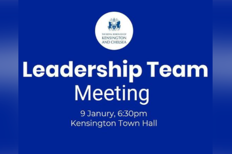 Our first Leadership Team meeting of 2019 is next Wednesday