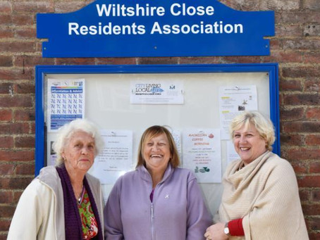 Meet Wiltshire Close Residents' Association in Chelsea