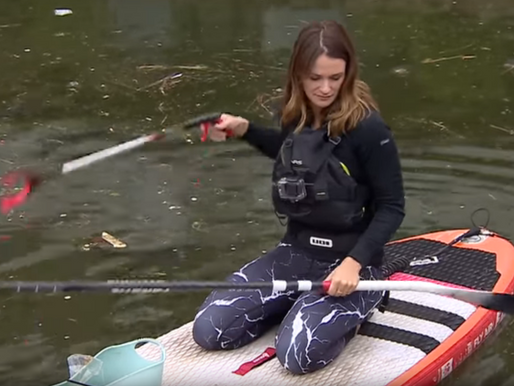 Plastic patrol: One woman's mission to clear UK waterways