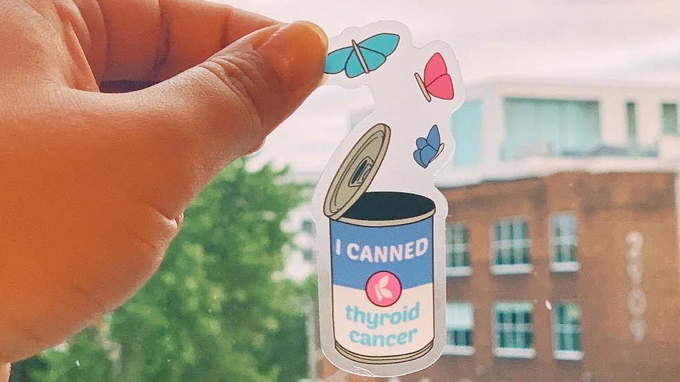 Soup Can with Butterflies Sticker