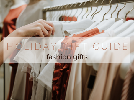 Gifts for the fashion lover