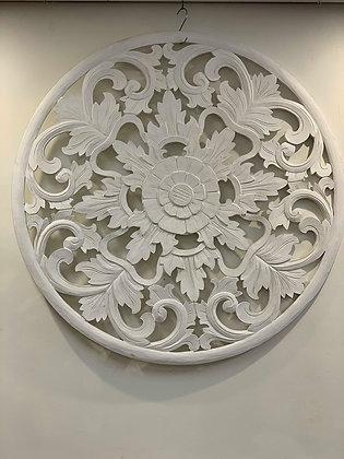 Round Mandala Wall Panel