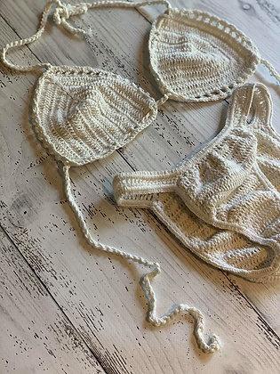 Macrame Bikini- Ivory