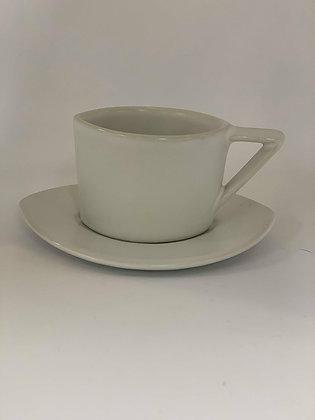 Oval Tea Cup & Saucer