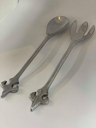 Metal Salad Servers