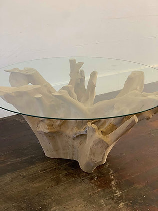 Natural Teak Root Table