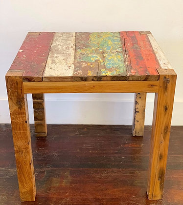 Recycled Boat Table