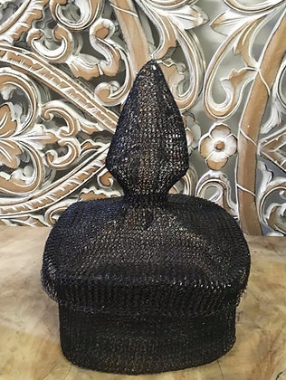 Black or Silver Mesh Stainless Steel Box