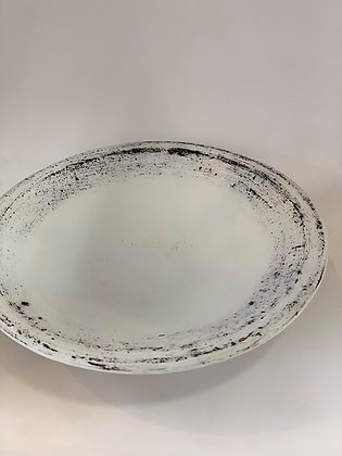 Open Platter Bowl- white