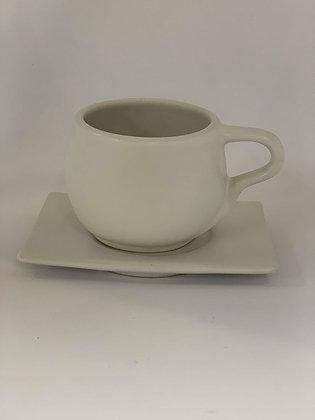 Circle Tea Cup & Saucer