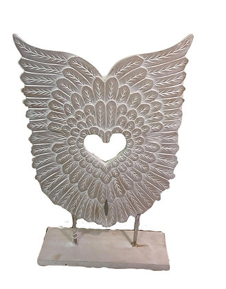 Angel Wings on stand