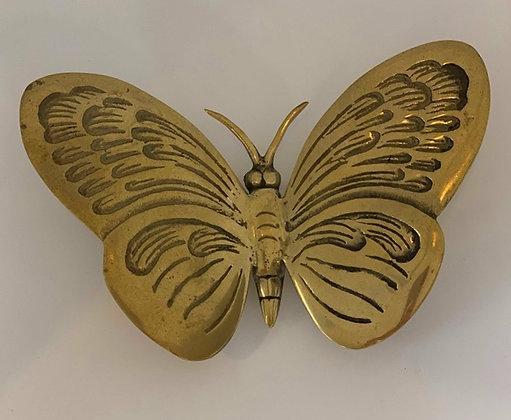 Brass Butterfly