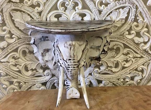 Elephant Head Shelf