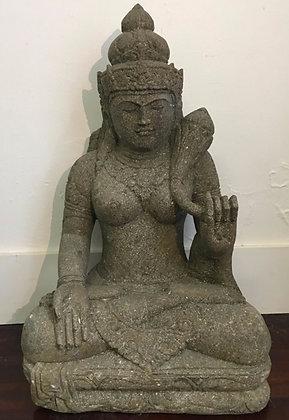 Greenstone Sitting Dewi Tara
