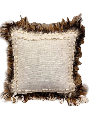 Feathered Cushion