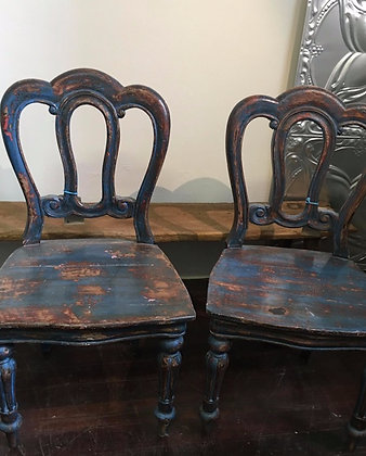Antique Timber Chairs