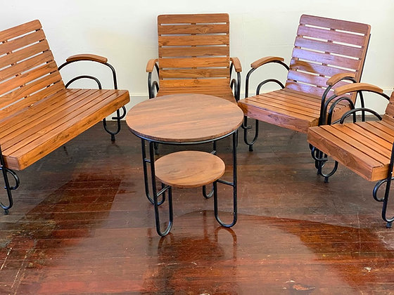 Vintage Table & Chairs Set