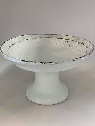 Platter Pedestal- white