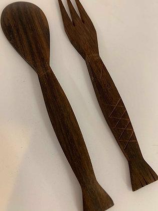 Timber Wood Utensil Mini Set