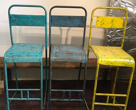 Rustic High Stools