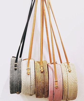 Hand Woven Rattan Bag