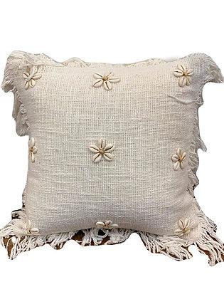 Daisy Seashell Cushion