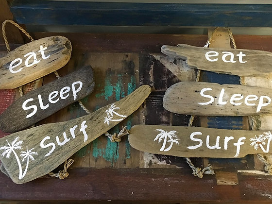 Driftwood Surf Signs