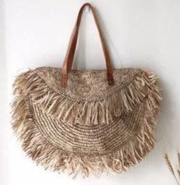 Frayed Beach Bag