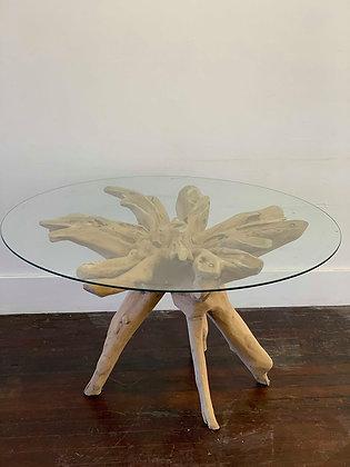 Natural Teak Root Table