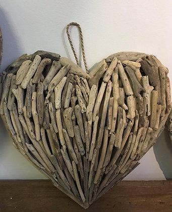Driftwood 3D Heart