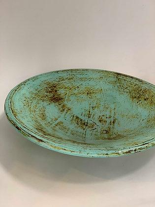 Open Platter Bowl- turquoise