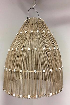 Bamboo & Seashell Light Pendant