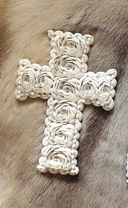 Seashell Cross