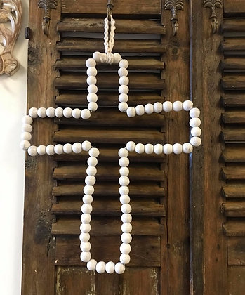 Beaded Cross
