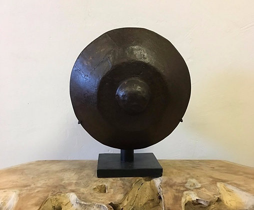 Balinese Iron Gong on stand