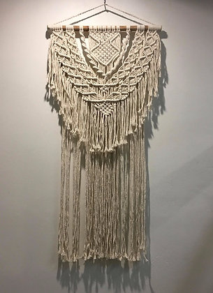 Fringed Macrame Wall Art