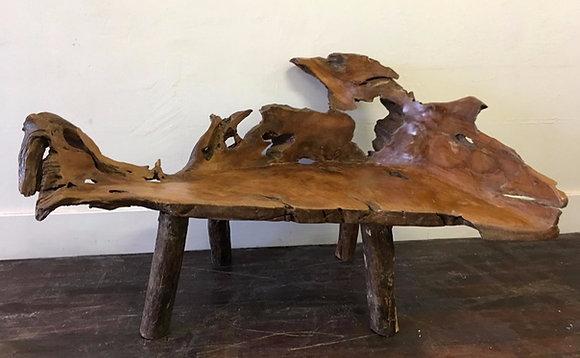 Natural Form Teak Chair