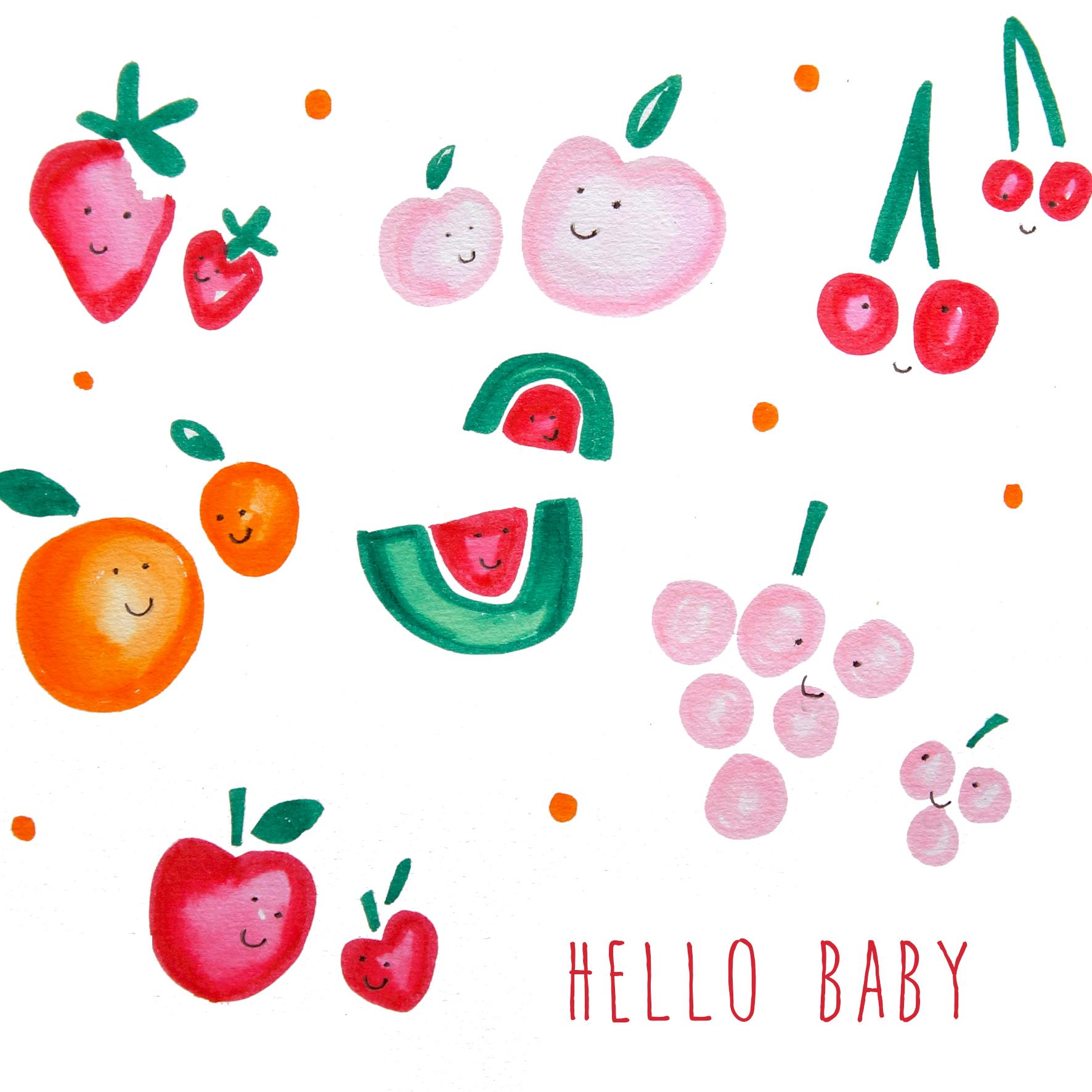 hello baby fruit