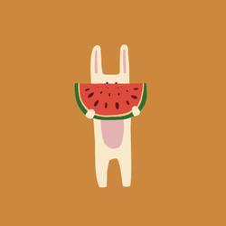 Bunny_Watermelon