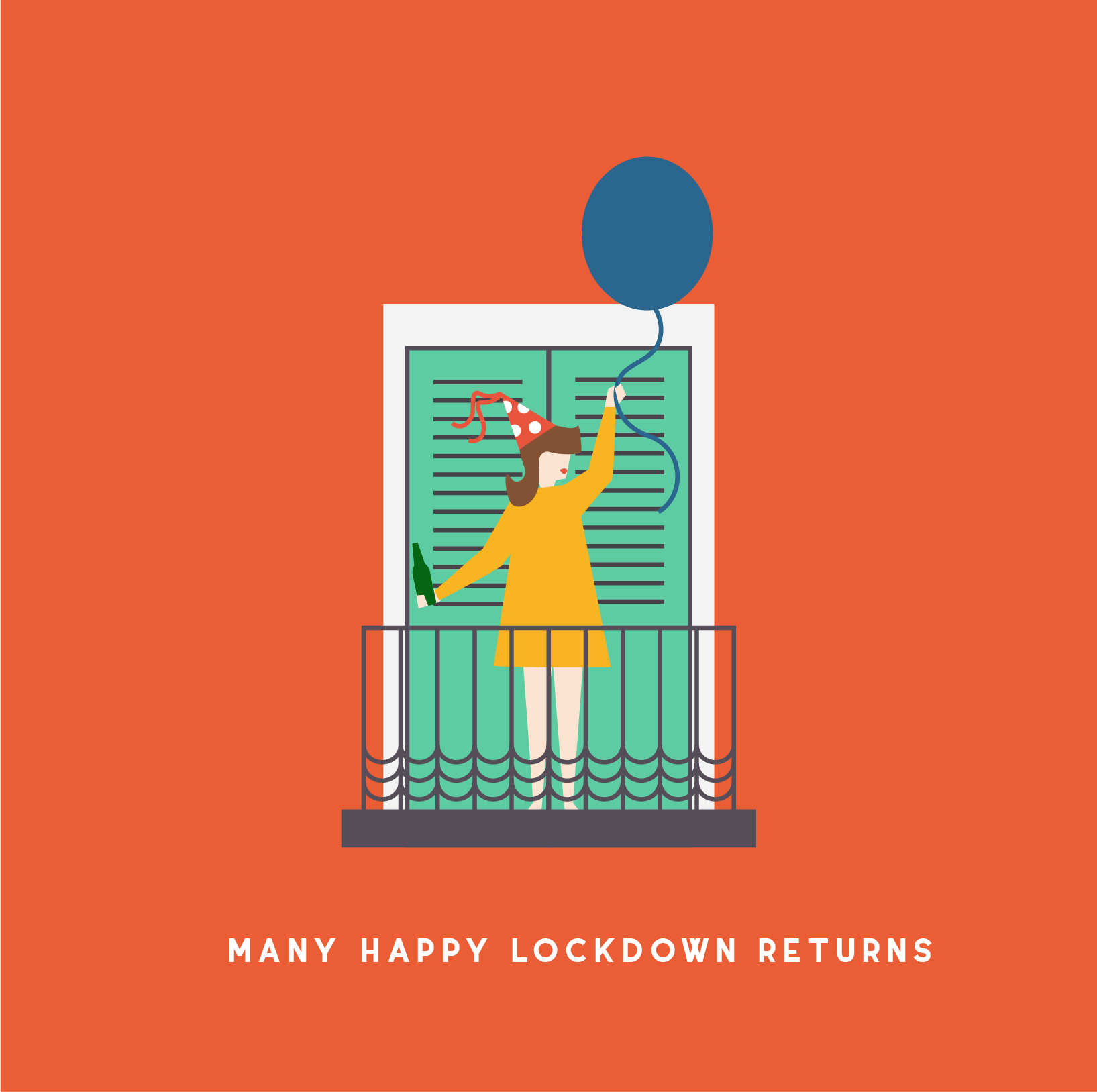 LOCKDOWN BIRTHDAY