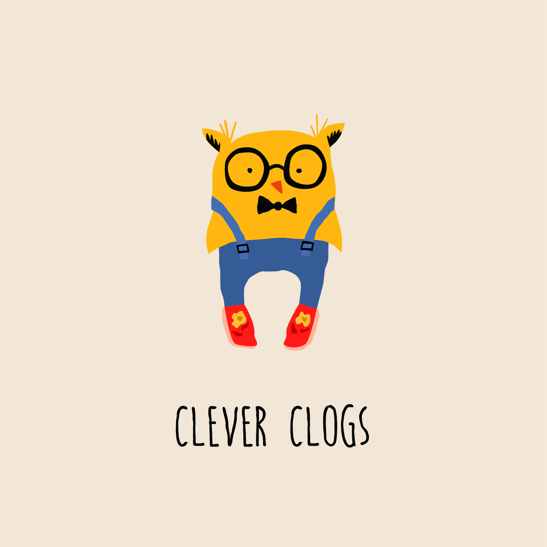 CLEVER CLOGS OWL