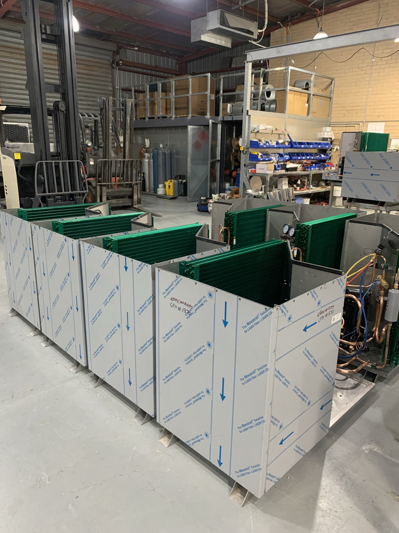 Condensing Production pre-pipework