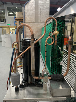 Condensing Production pipe work