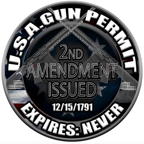 "2nd AMENDMENT 5"""