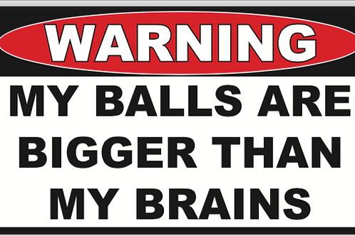 Balls Bigger than Brains